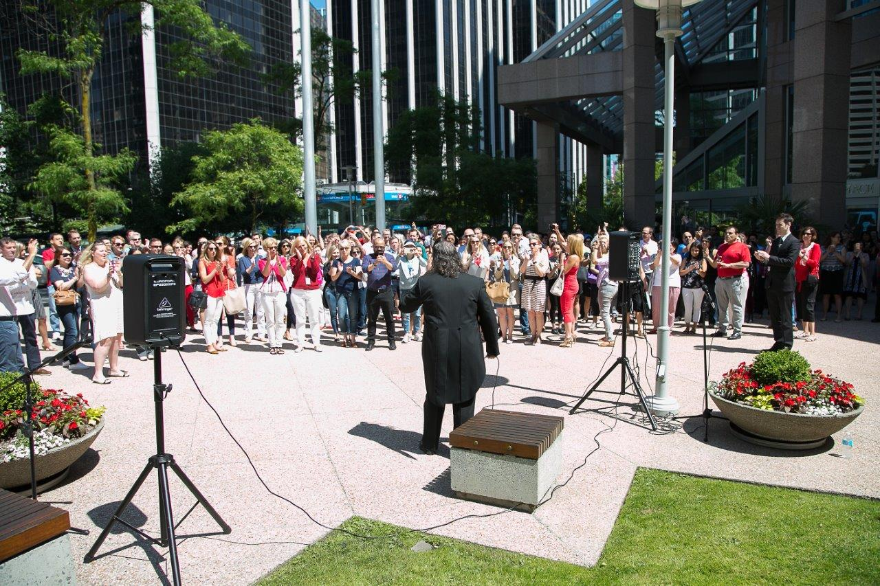 Canada Day singer