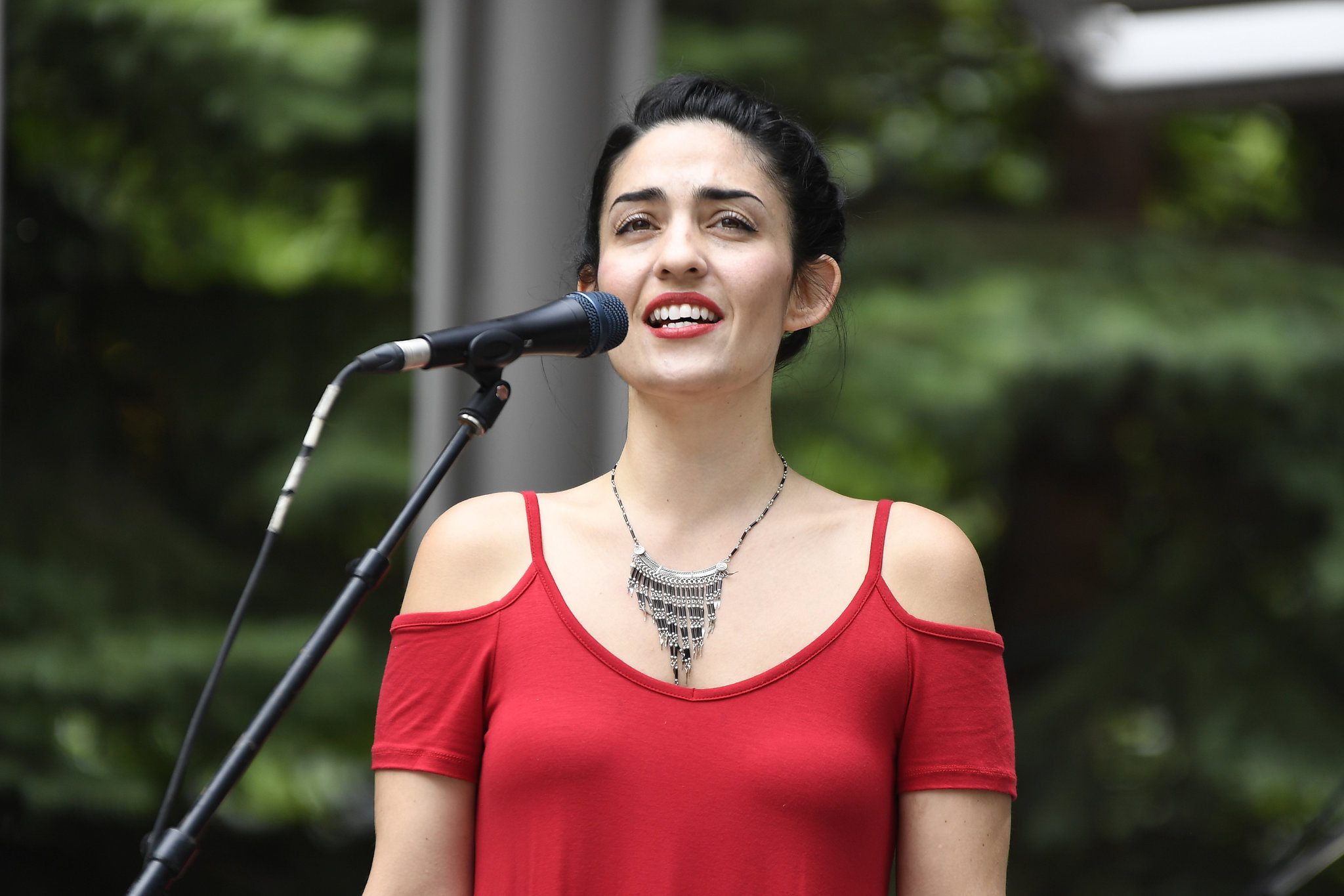 Canada Day singer