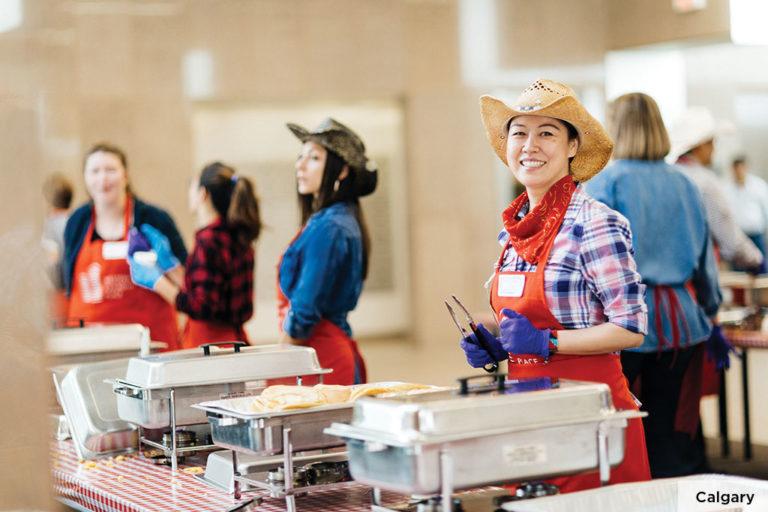Calgary Stampede food service