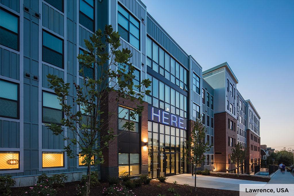 Lawrence USA building