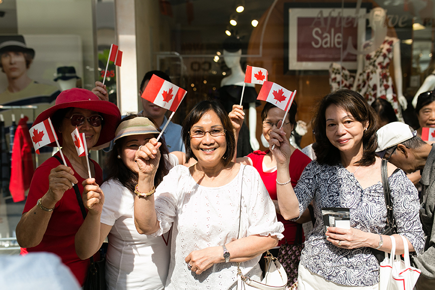 Canada Day people