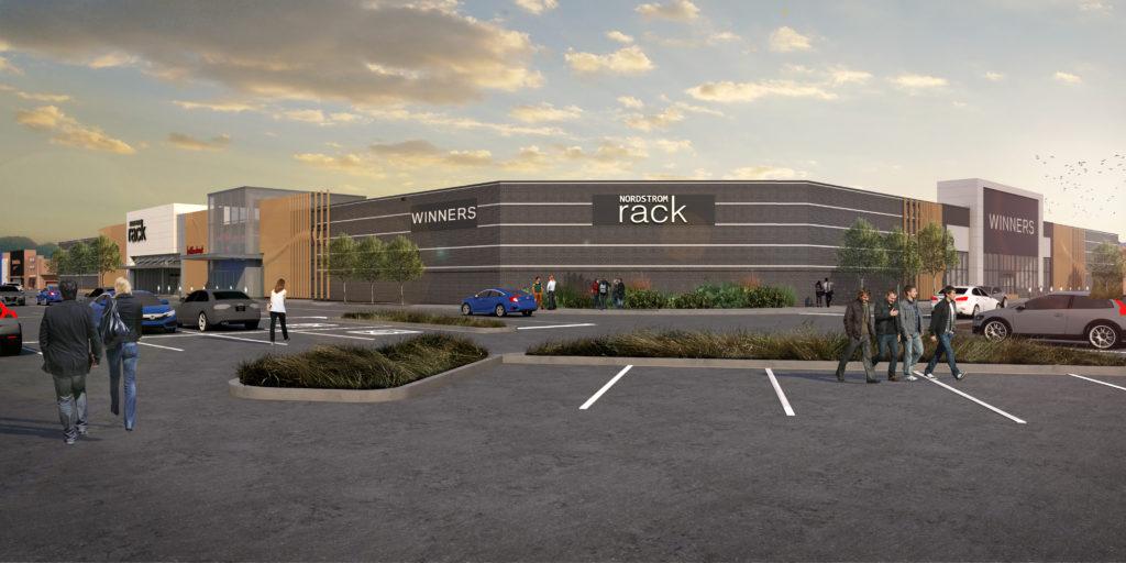 Willowbrook Shopping Centre Nordstrom Rack Rendering