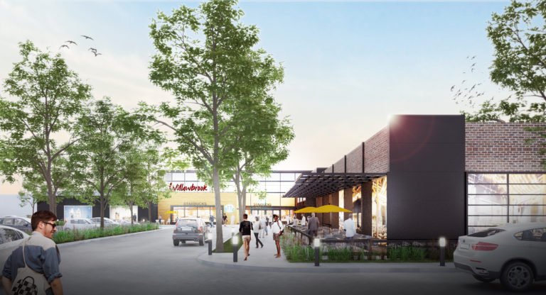 Willowbrook Shopping Centre Exterior Rendering