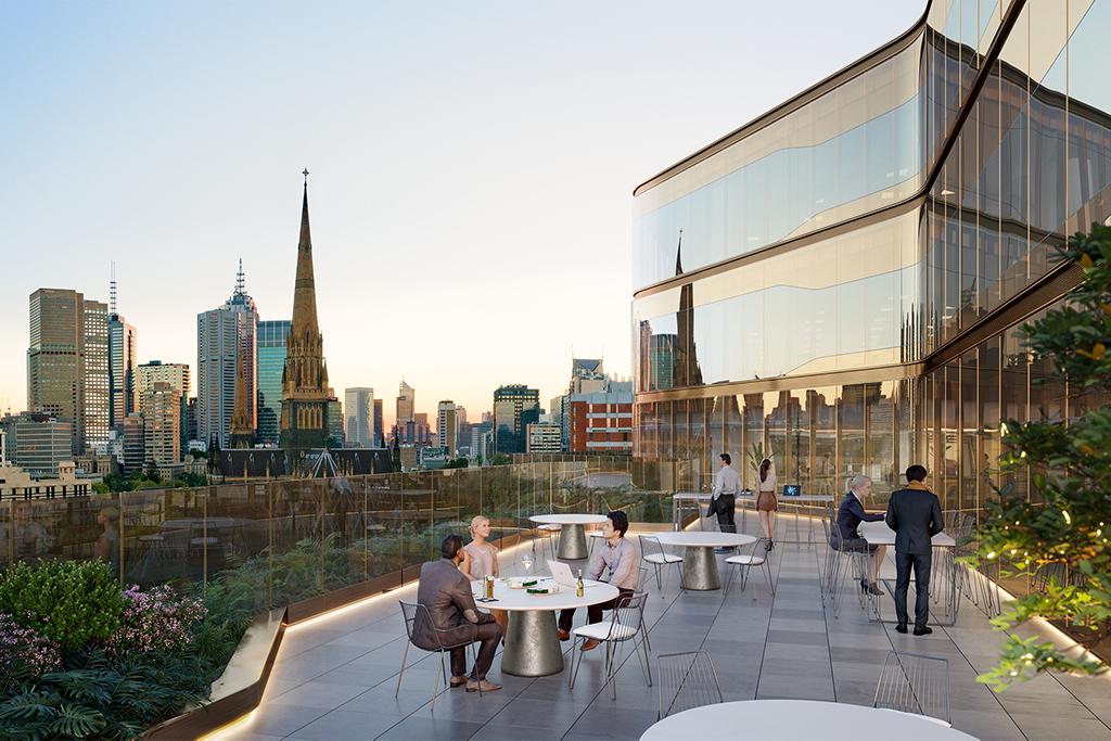 200 Victoria Parade Melbourne Australia Balcony Exterior