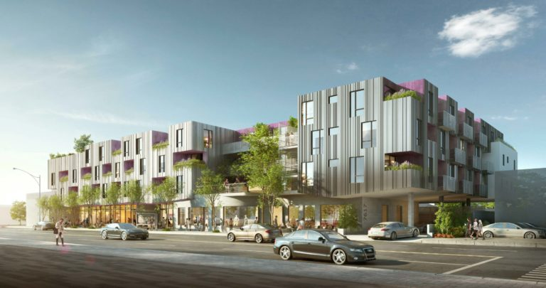 LaTerra Joint Venture - 7617 Santa Monica Boulevard, West Hollywood Exterior