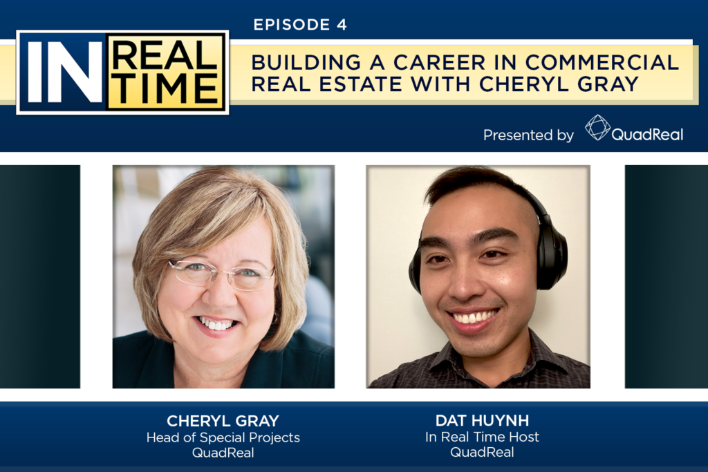 In Real Time Episode 4 Speakers: Cheryl Gray and Dat Huynh