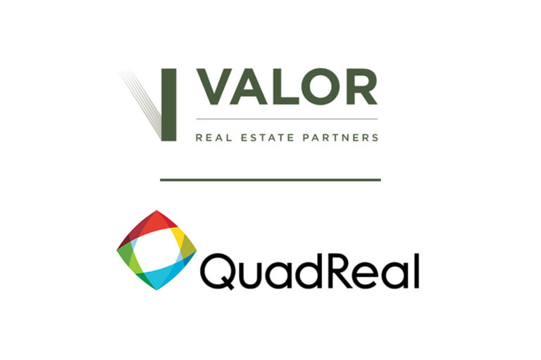Valor Real Estate Partners and QuadReal Joint Venture