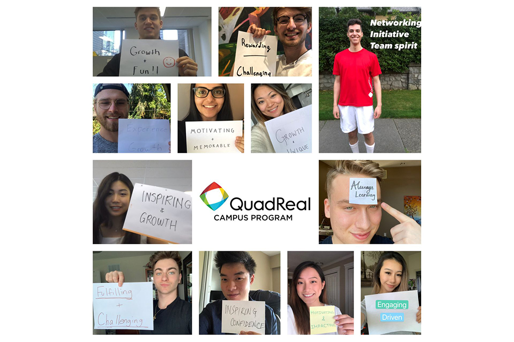Collage of QuadReal interns