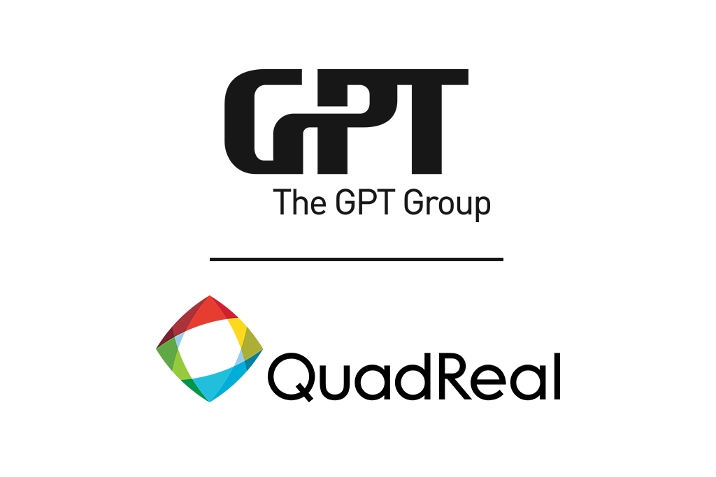 GPT Group and QuadReal logos