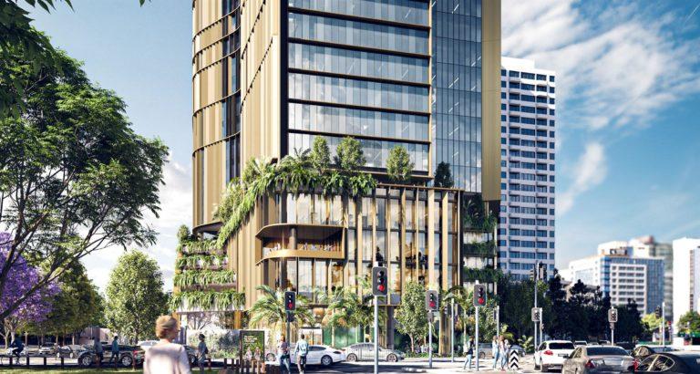 Rendering of 309 North Quay, Brisbane, Australia